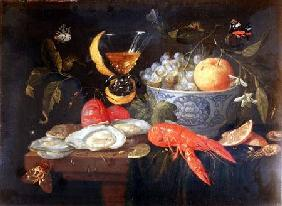 Still Life with Fruit and Shell Fish