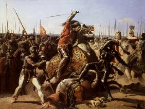 Duke of Friedland (1583-1634) at The Charge of Wallenstein