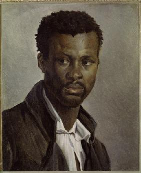 G�ricault, Jean Louis Th�odore : Portrait of a Negro