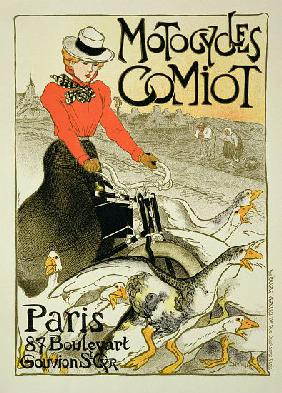 Reproduction of a Poster Advertising Comiot Motorcycles