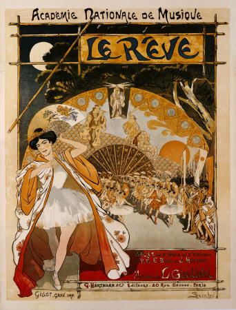 Steinlen, Th�ophile-Alexandre : Le Reve