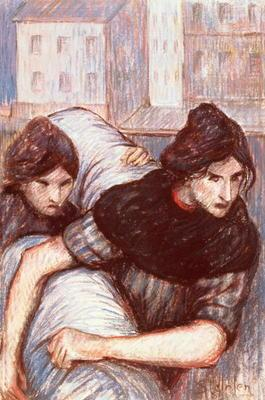 The Laundresses, 1898 (pastel on canvas)