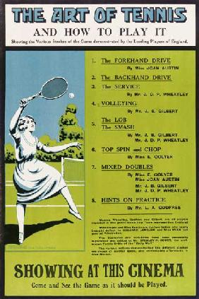 The Art Of Tennis