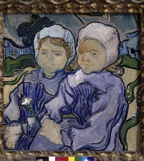 Van Gogh / Two children / 1890
