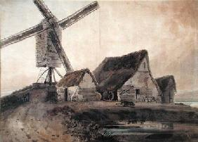 The Old Mill at Stanstead, Essex  on