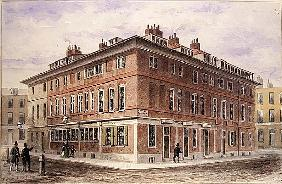 Old House in New Street Square, bequeathed by Agar Harding to the Goldsmith''s Company, pulled down