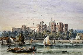 View of Lambeth Palace from the Thames