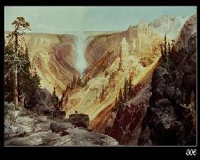 The Grand Canyon of the Yellowstone 1872