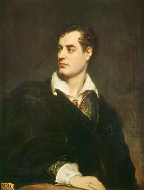 Portrait of Lord Byron (1788-1824)