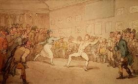 The Fencing Duel