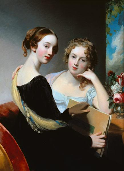 Portrait of the McEuen sisters