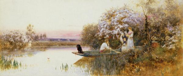 Picking Blossoms. 1895