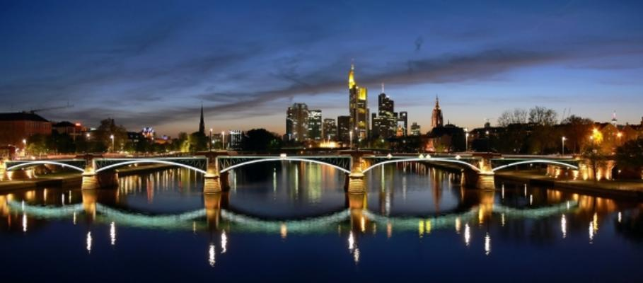 Frankfurt Panorama Tihomir Corba As Art Print Or Hand