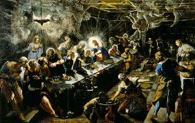 Tintoretto (eigentl. Jacopo Robusti) : The last Holy Communion