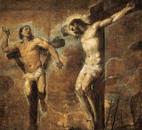 Christ on the Cross and the Good Thief