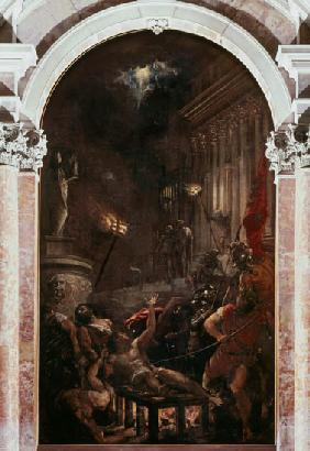 The Martyrdom of St. Lawre...