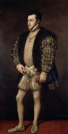 Portrait of Philip II (1527-98) of Spain