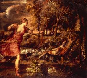 The Death of Actaeon