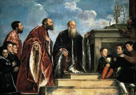 Titian / The Vendramin Family / c. 1547