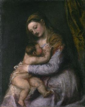 The Virgin and Child, c.1570-76