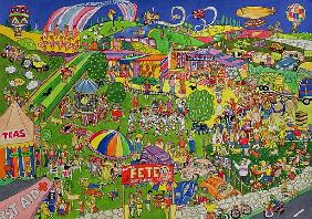 The Summer Fete, 1999 (w/c on paper)