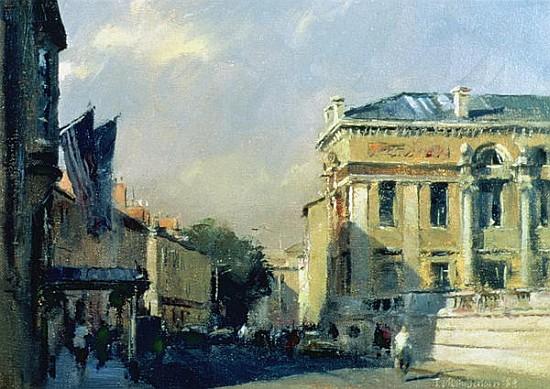 Morning Ashmolean Museum 1984 Oil On Trevor