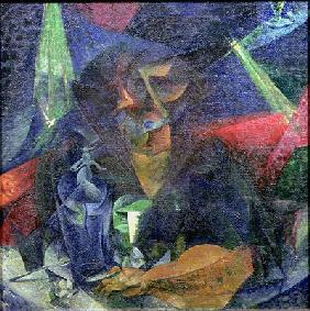 Composition with Figure of a Woman, 1912 (oil on canvas)