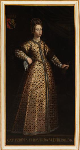 Caterina di Baviera, wife of Beroldo di Sassonia