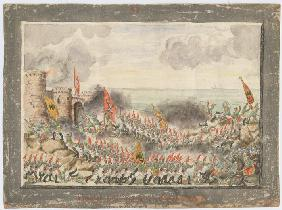 The Siege of Varna on September 1828