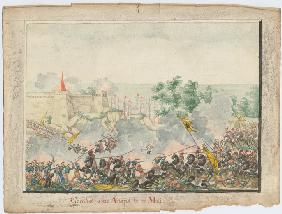 The Capture of the Anapa fortress on June 23, 1828