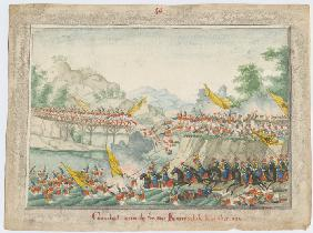 The Battle on the river Kamchik on 15th October 1828