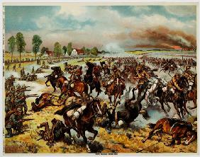 The Battle of Tannenberg, August 1914