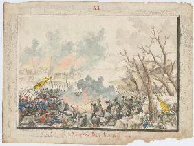The Battle of Patnos on October 1828
