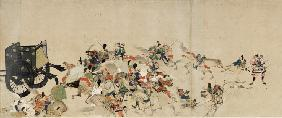 Illustrated Tale of the Heiji Civil War (The Imperial Visit to Rokuhara) 3 scroll