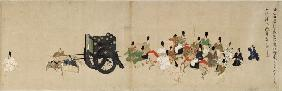 Illustrated Tale of the Heiji Civil War (The Imperial Visit to Rokuhara) 5 scroll
