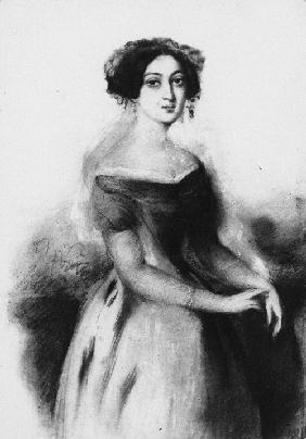 Portrait of Princess Nino Chavchavadze