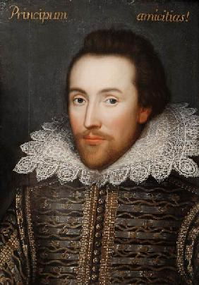 The Cobbe portrait of William Shakespeare (1564-1616)