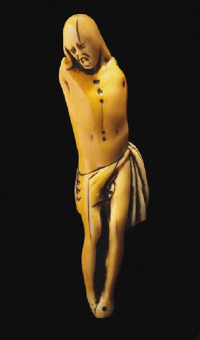 Netsuke: Christ on the cross