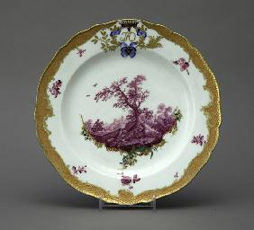 Porcelain Plate from the Orlov Service