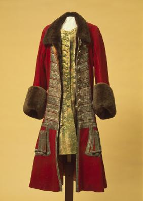Winter coat and waistcoat of Peter the Great