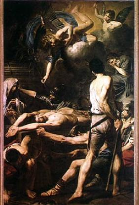 Martyrdom of St. Processus and St. Martinian