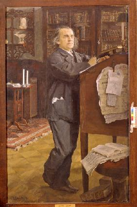 Serow, Valentin Alexandrowitsch : Portrait of the composer A...