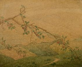 Landscape with Apple Tree