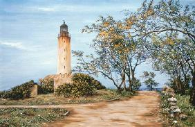 Lighthouse (oil on canvas)