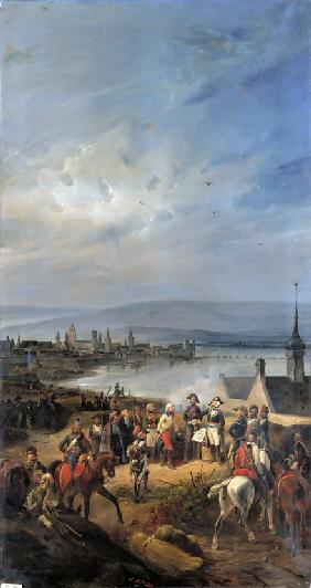 The French Army enters Mainz on October 21, 1792