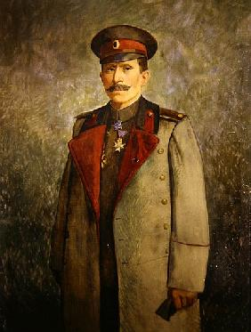 General Jekon, Chief of Staff of the Bulgarian Army, c.1916