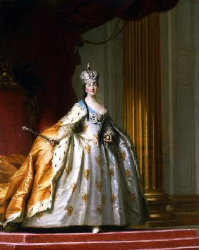 Portrait of Empress Catherine the Great in her Coronation Robe