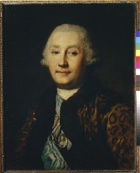 Portrait of count Grigory Grigoryevich Orlov (1734-1783)