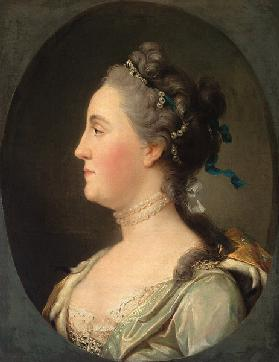 Portrait of Empress Catherine II (1729-1796)