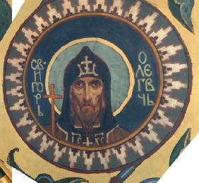 Saint Grand Prince Igor II Olgovich of Kiev